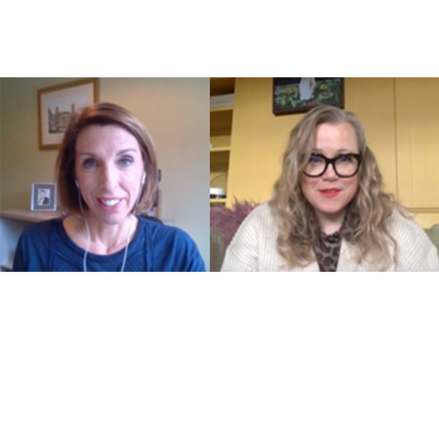 "080 ""How My Work Was Affected by the Menopause"" - Kate Halfpenny & Dr Louise Newson"