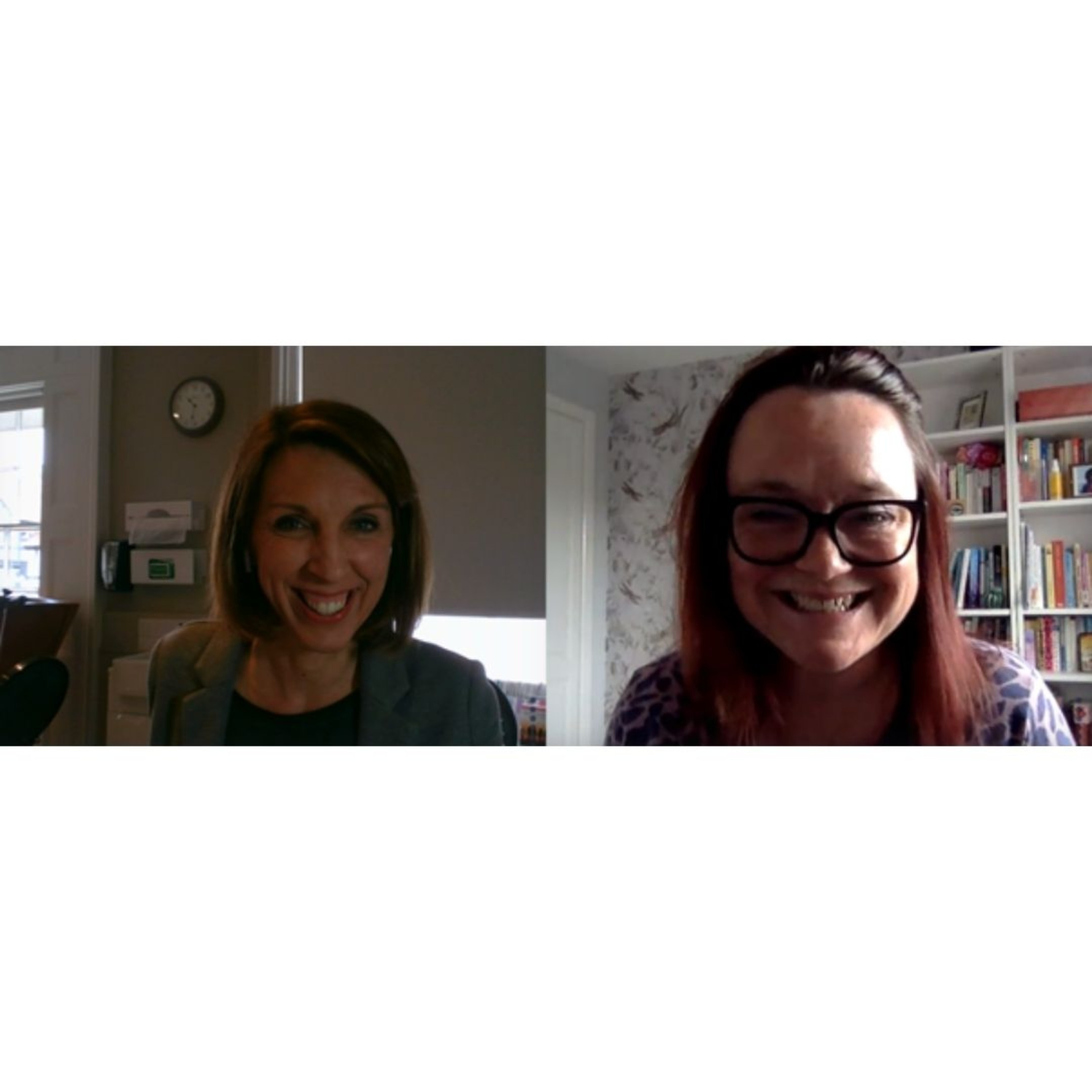 104 - Mindfulness and Menopause with yoga teacher Claudia Brown