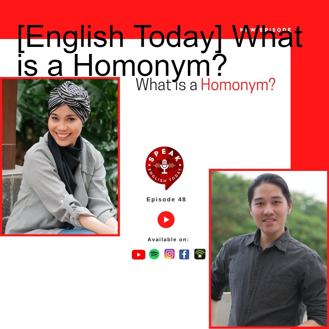 [English Today] What is a Homonym?