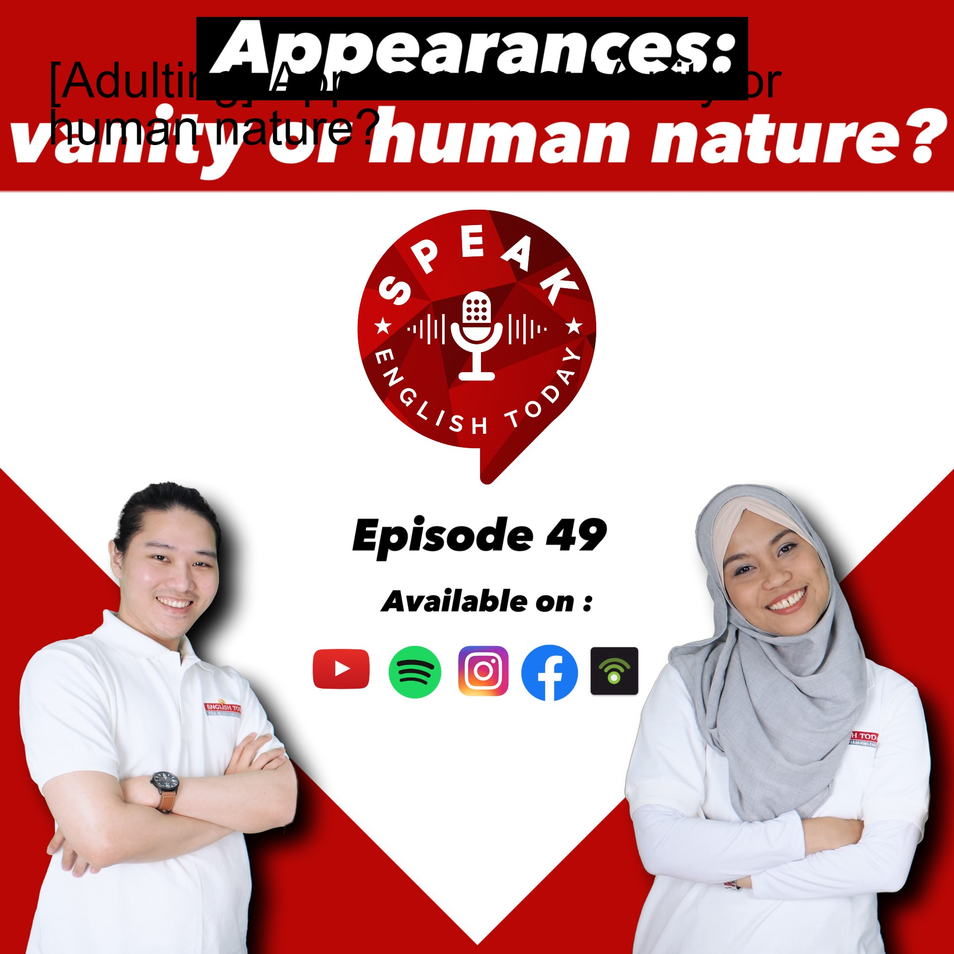 [Adulting] Appearances: Vanity or human nature?