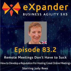 83.2 How to Develop a Reputation For Hosting Great Online Meetings