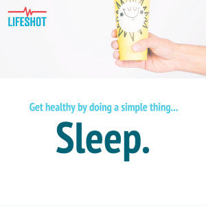Sleep your way to health! It couldn't be any easier