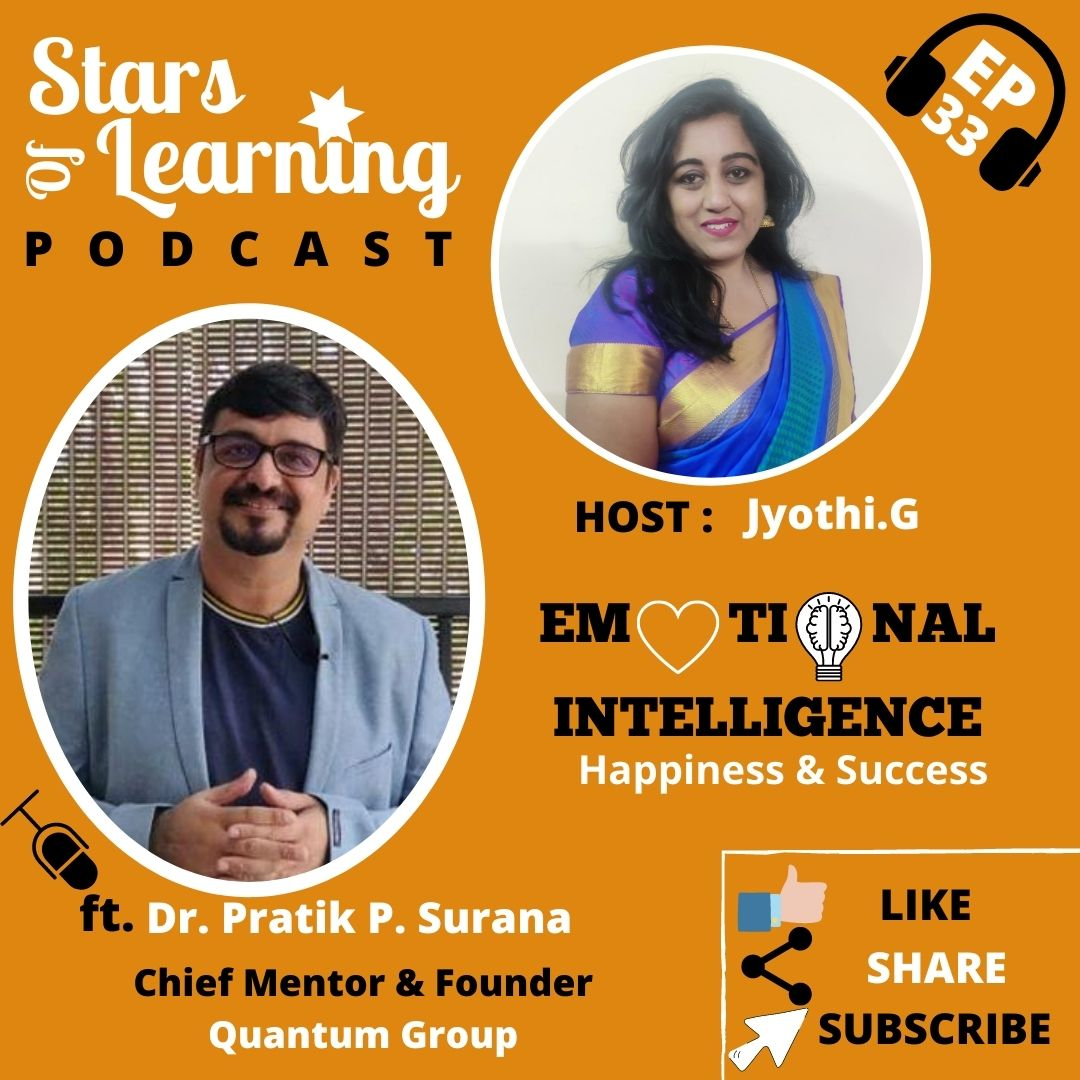 Ep 33: Emotional Intelligence for Happiness and Success by Dr. Pratik Surana
