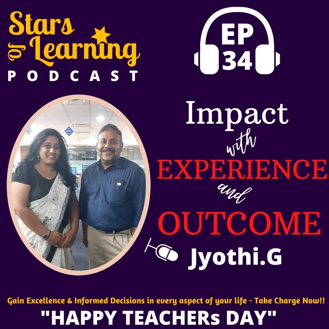 Ep 34: Impact with Experience & Outcome - Solo
