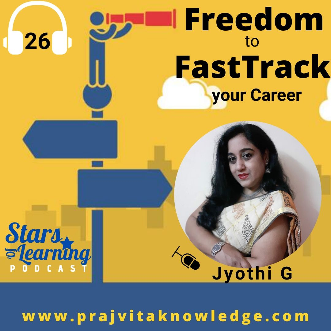 Ep 26: Freedom to FastTrack your Career (Solo)