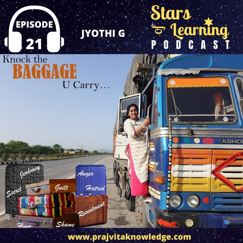Ep 21: Knock the Baggage you Carry (Solo)