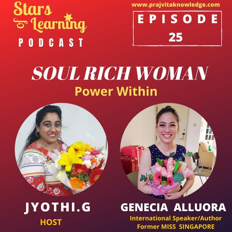 Ep 25: Soul Rich Woman – Power Within by Genecia Alluora