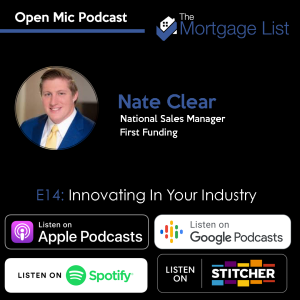 Ep. 14 Innovating in Your Industry with Nate Clear