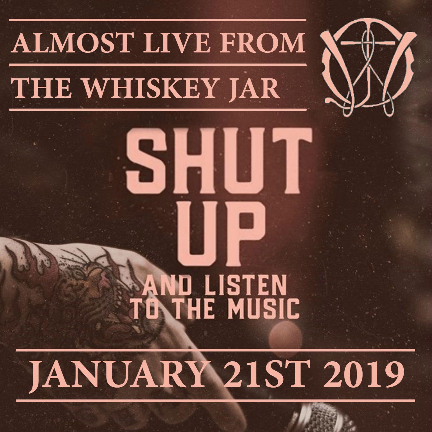 Almost Live From the Whiskey Jar - January 21st 2020 (episode 58)