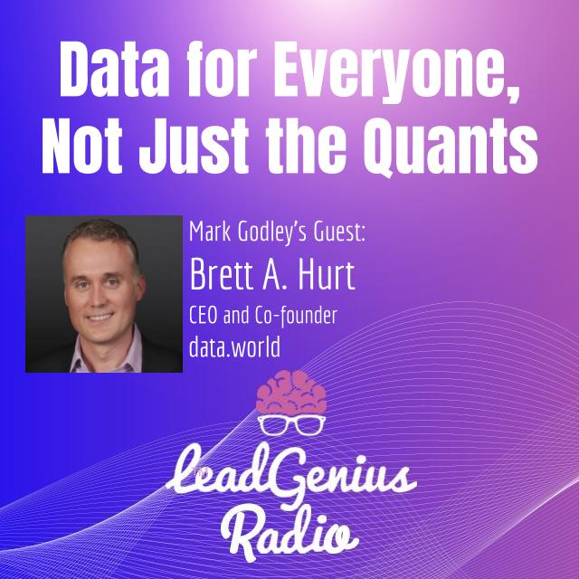 Data for Everyone, Not Just the Quants