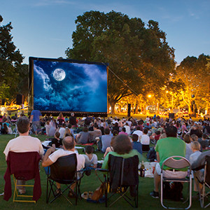 Music and Movies in the Park, Modern Day Fitzgerald, and Books in español