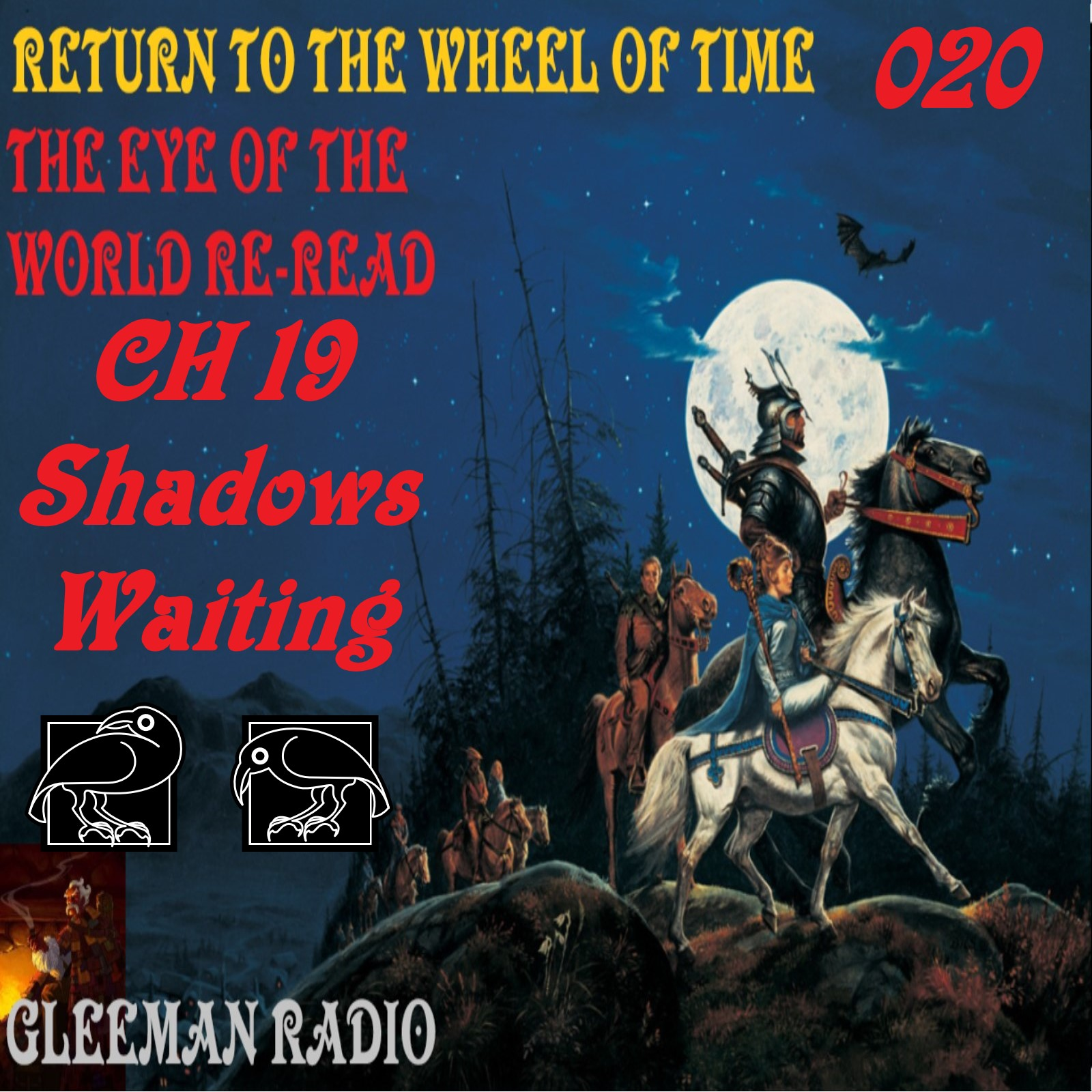 CH 19 Shadows Waiting - The Eye of the World ReRead - Return to The Wheel of Time Ep. 020