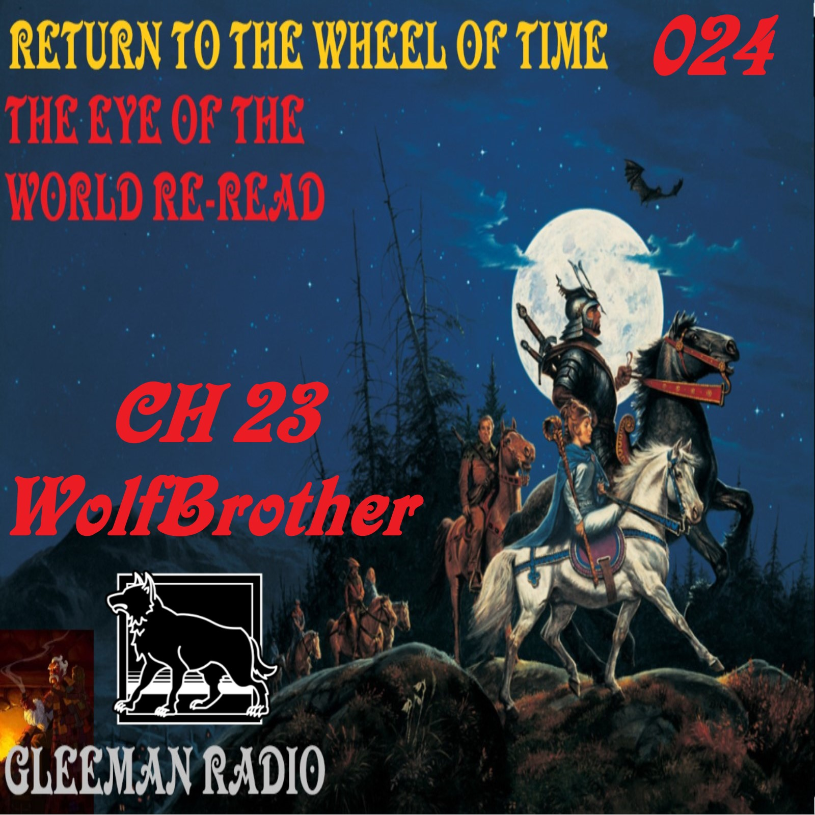 CH 23 - WolfBrother - The Eye of the World Reread - Return to the wheel of time Ep. 024
