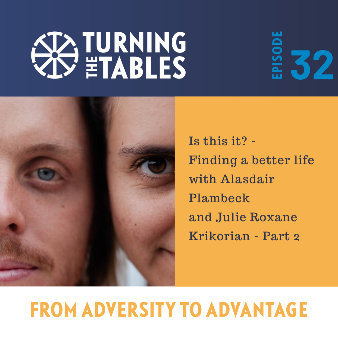 EP 32: Is this it? - Finding a better life with Alasdair Plambeck and Julie Roxane Krikorian part 2