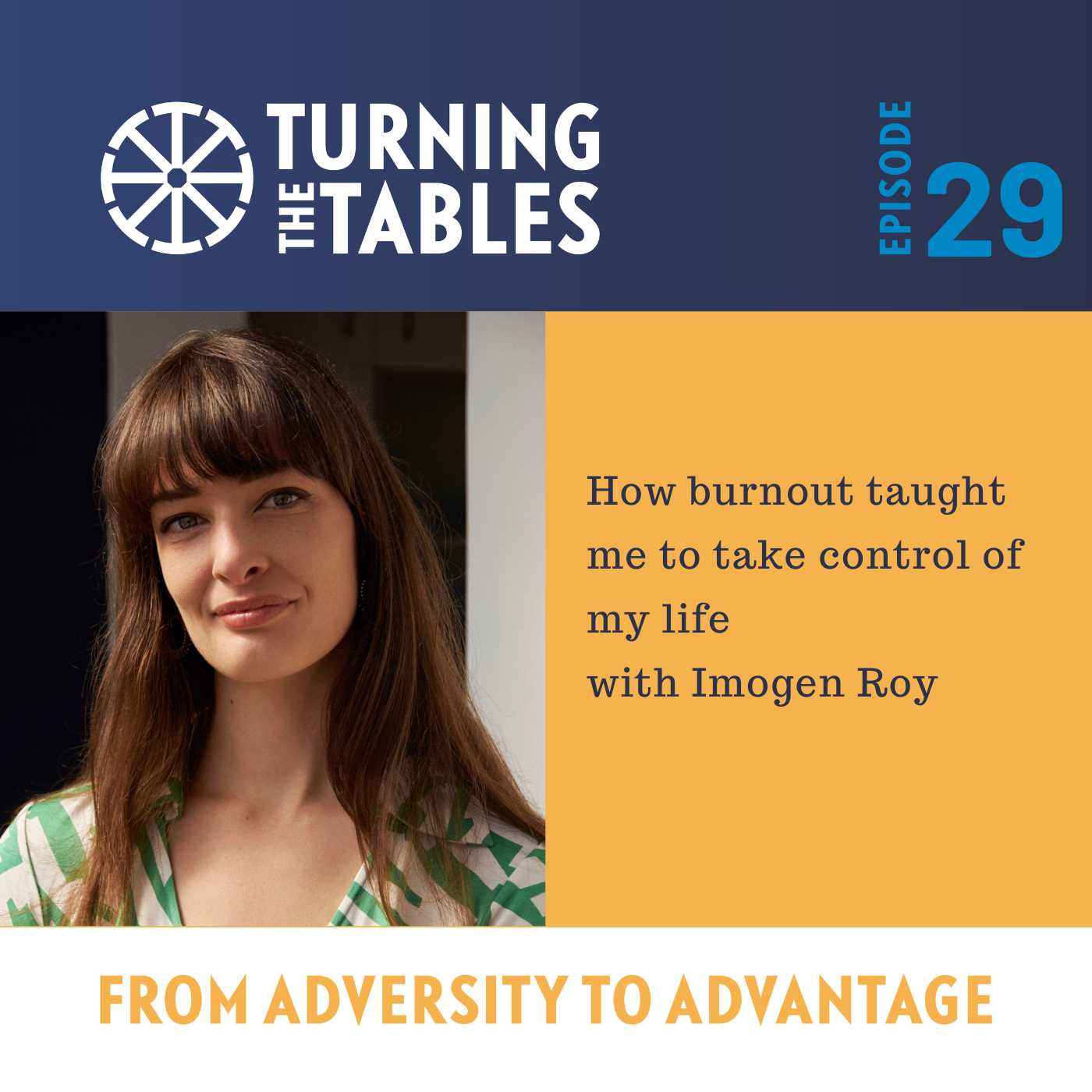 EP 29: How burn out taught me to take control of my life with Imogen Roy
