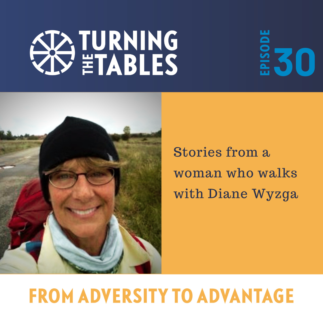 EP 30: Stories from a woman who walks, with Diane Wyzga