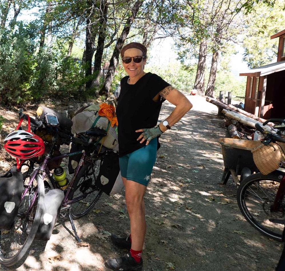 Interview 041:Claudine Desiree | 5-year Bike Tour While Teaching Cob Building Workshops Internationally