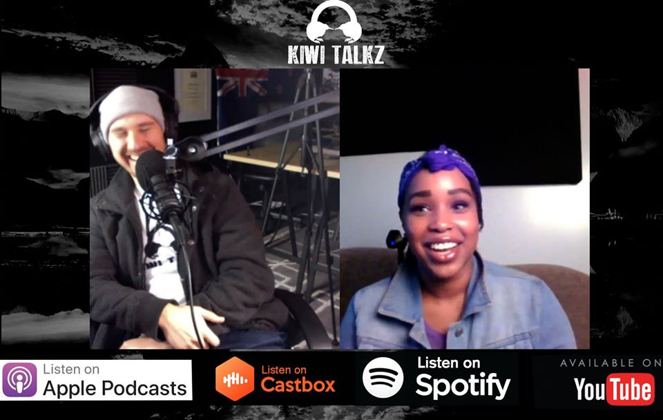Kiwi Talkz #48 - Robin Rhymes (Battle Rap, Covid-19, Black Lives Matter, Dallas, Donald Trump, New Zealand etc.)