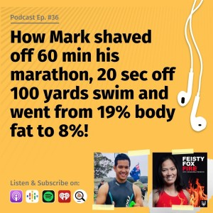 How Mark shaved off 60 min his marathon, 20 sec off 100 yards swim and went from 19% body fat to 8%! - Interview