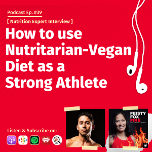How to use Nutritarian-Vegan Diet as a Strong Athlete - Interview with Nutrition Expert and Triathlete Ivan Blazquez