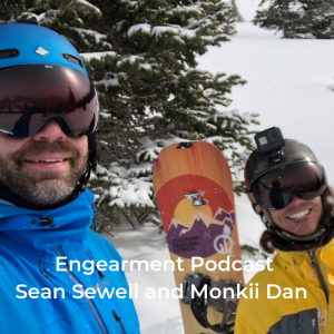 Engearment Podcast with Sean Sewell - Monkii Dan on Monkii 360, Fitness and Being Wild