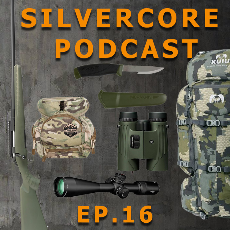 Ep. 16:  Firearms, optics and equipment for new hunters