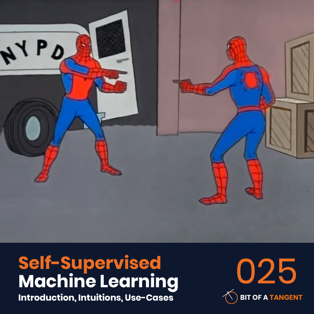 025 | Self-Supervised Machine Learning: Introduction, Intuitions, and Use-Cases