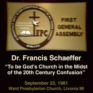 1981 General Assembly - Francis Schaeffer