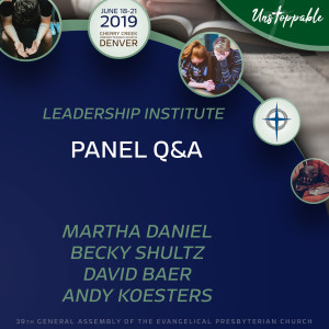 Children and Family Ministry Training—Panel Q&A