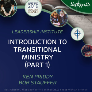 Transitional Pastor Training—Introduction to Transitional Ministry, Part 1