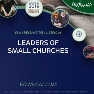 Networking Lunch—Leaders of Small Churches