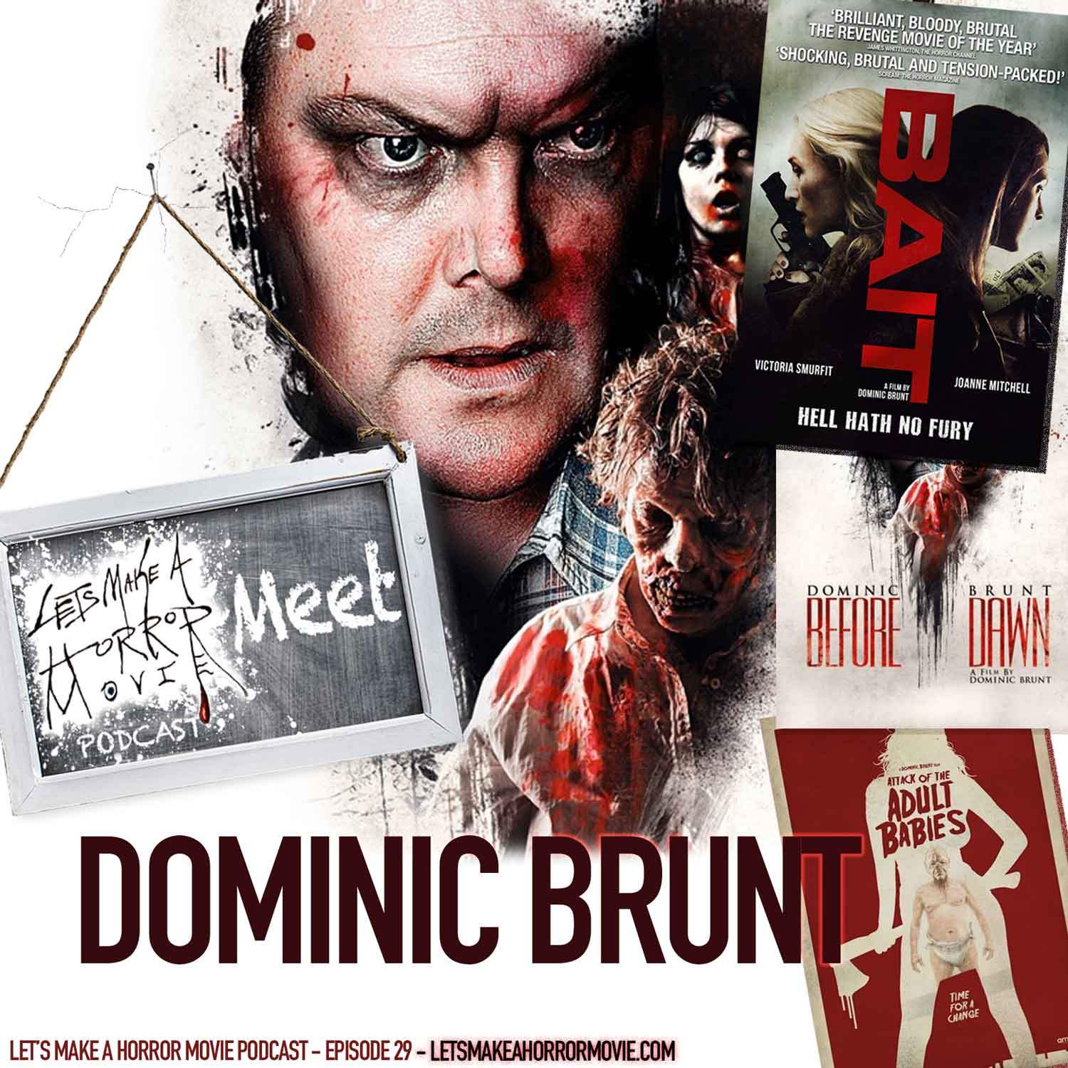 Episode 29: Dominic Brunt Interview - LMAHMpod Meets...