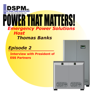 Power that Matters! Episode 2: with President of ESS Partners