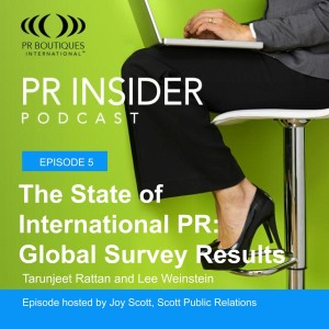 The State of International PR: Results from the Global Survey
