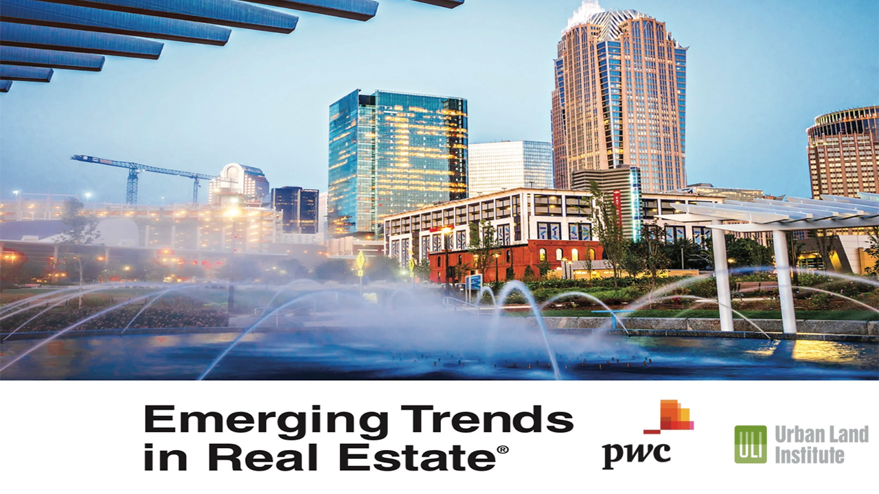 PwC and ULI's Emerging Trends in Real Estate 2020
