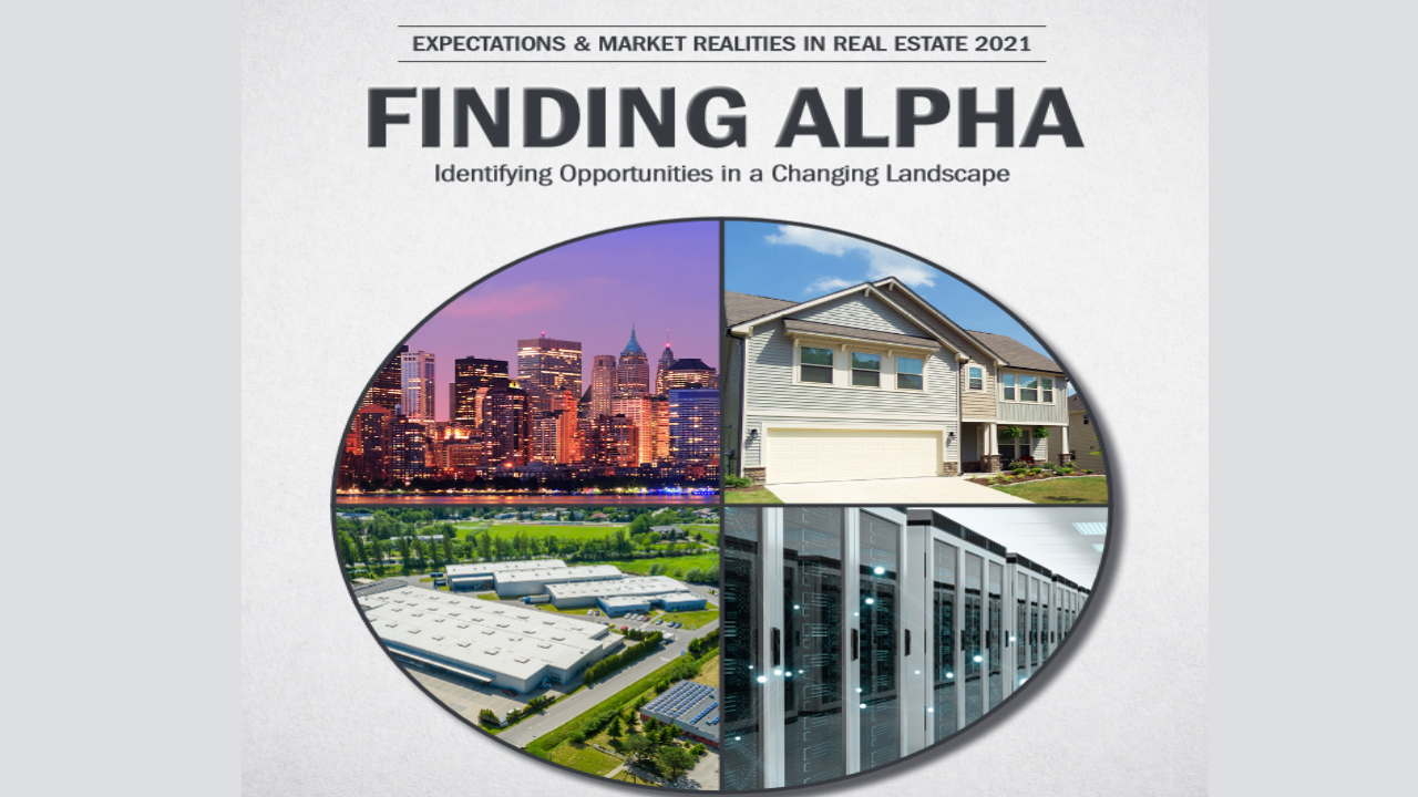 Deloitte / NAR / RERC Expectations & Realities in Real Estate 2021