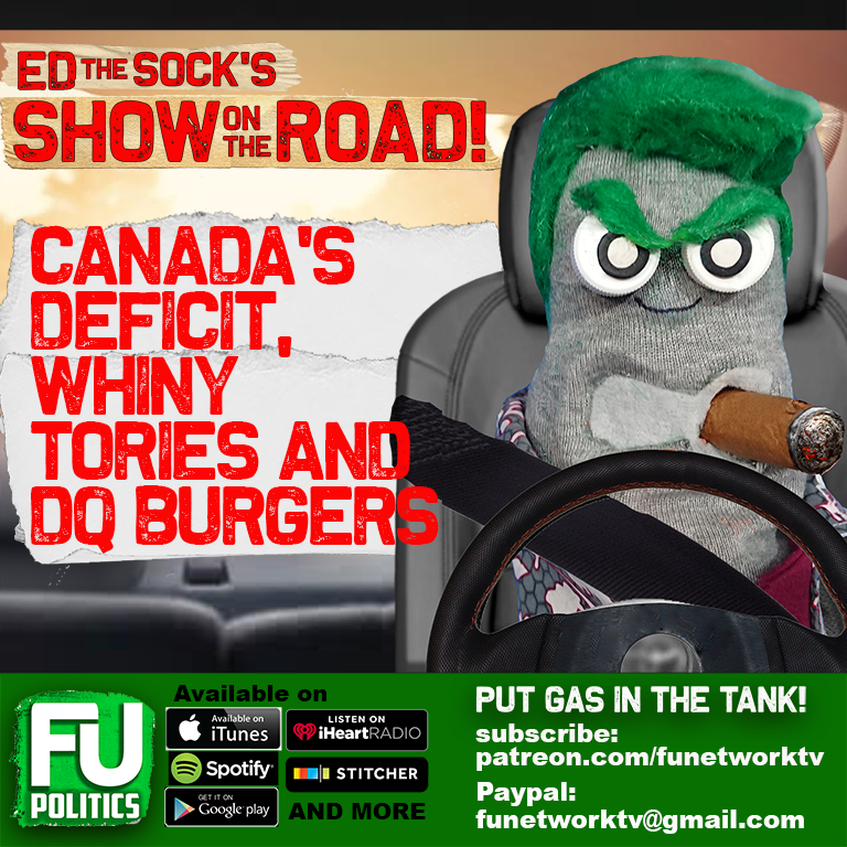 SHOW ON THE ROAD - CANADA'S DEFICIT & WHINY CONSERVATIVES