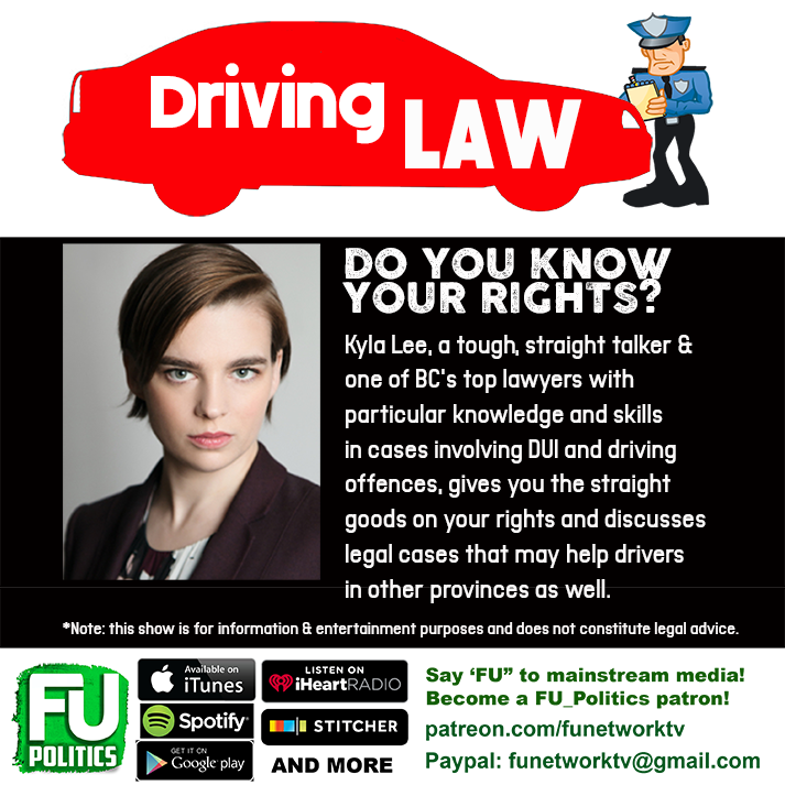 DRIVING LAW WITH LAWYER KYLA LEE