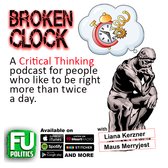 Broken Clock Podcast - Critical Thinking Pet Peeves