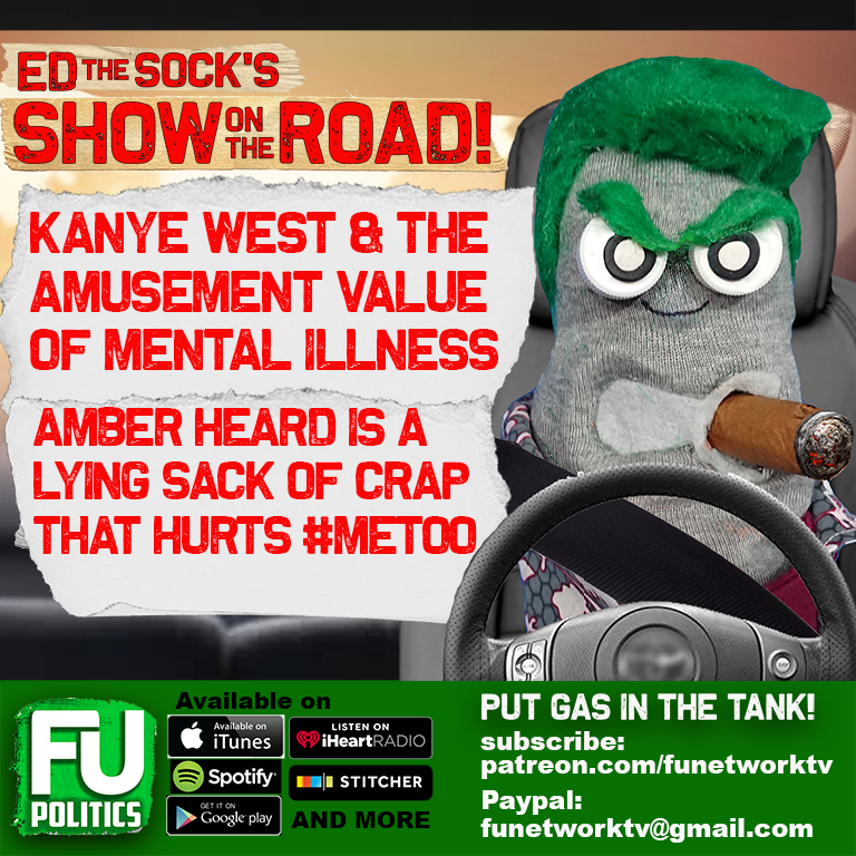 SHOW ON THE ROAD - KANYE WEST & FUN WITH MENTAL ILLNESS + AMBER HEARD