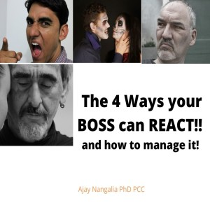 The 4 Reactions of a BOSS and how to manage them!