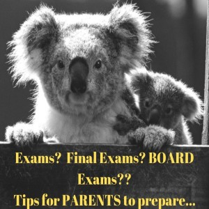 Final Exams? Board Exams? Tips for PARENTS to help their Kids be AWESOME!