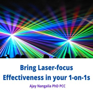 Bring LASER Focused EFFECTIVENESS to your 1 on 1 Conversations!!