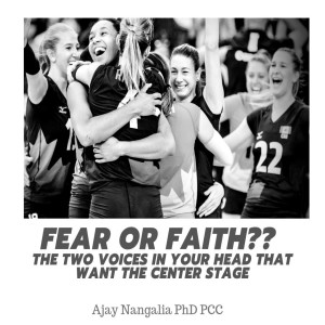 The Two VOICES in Your Head!!  FEAR or FAITH?