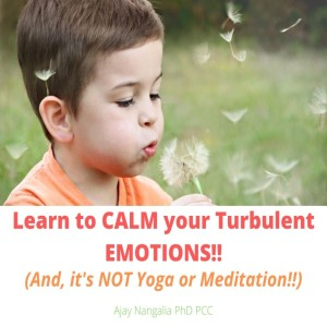 Learn to CALM your Turbulent Emotions! (and it's NOT Yoga or Meditation!)