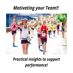 Motivating your TEAM - Practical Insights to support Performance!!