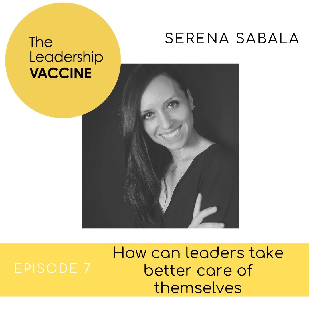 How can leaders take better care of themselves