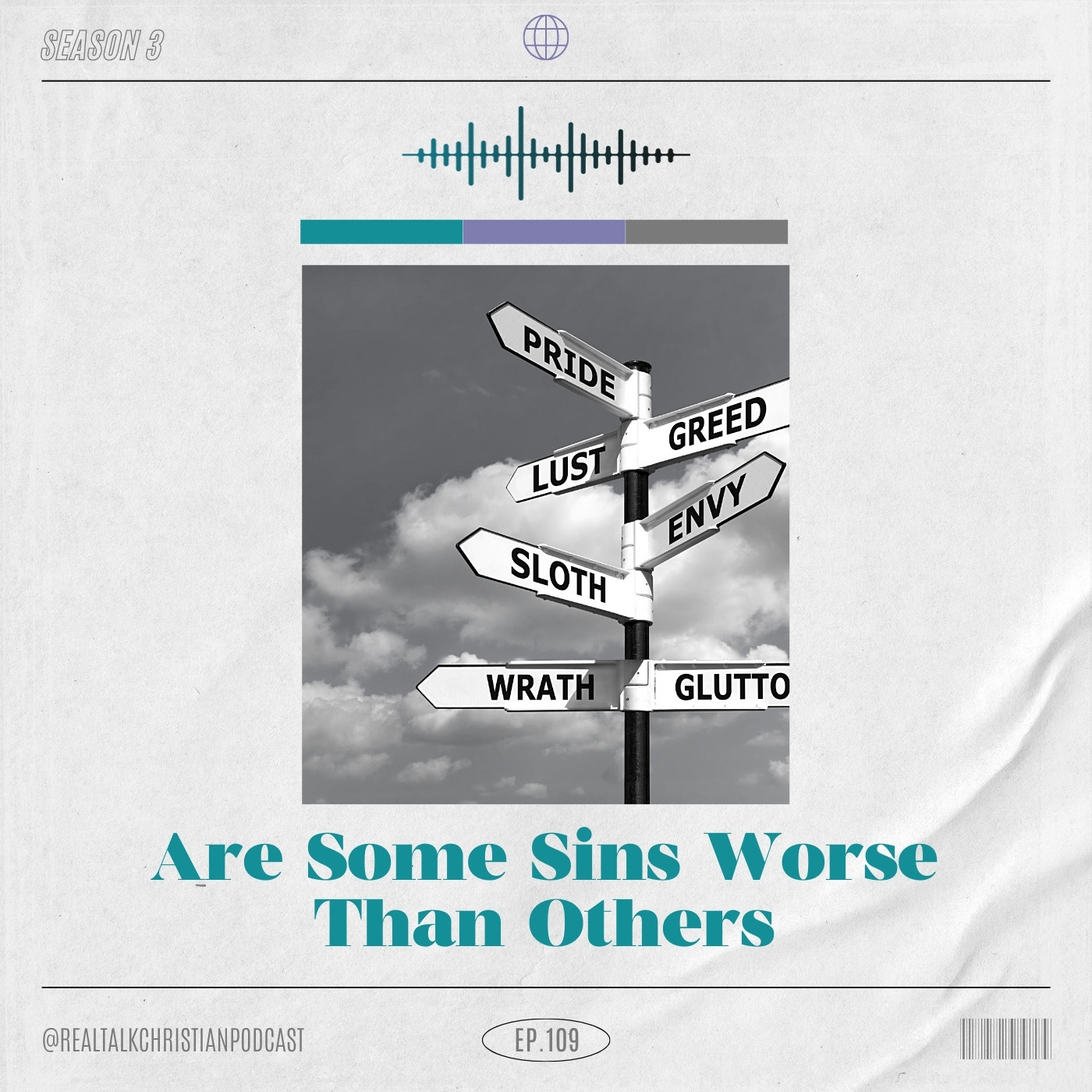 109: Are Some Sins WorseThan Others?