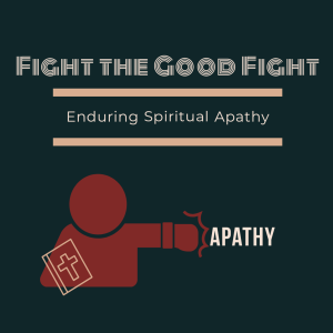 Fight the Good Fight: Enduring Spiritual Apathy