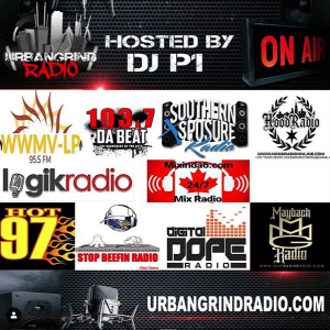 Urban Grind Radio featuring Left Lane E, D2G, Fly Cool Club | Hosted by DJ P1